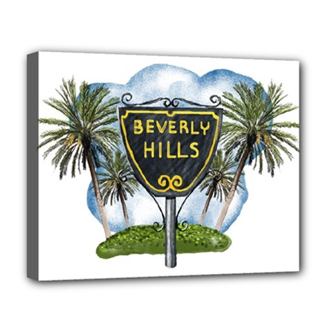 Beverly Hills Deluxe Canvas 20  X 16