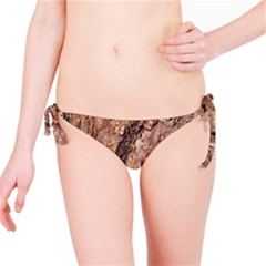Tree Bark C Bikini Bottom