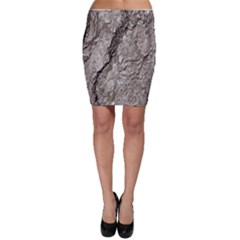 Tree Bark A Bodycon Skirt