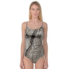 Tree Bark A Camisole Leotard