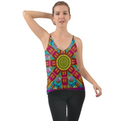 Sunny And Bohemian Sun Shines In Colors Cami