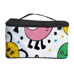 Cute And Fun Monsters Pattern Cosmetic Storage Case