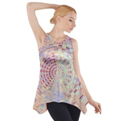 Gateway To Thelight Pattern  Side Drop Tank Tunic