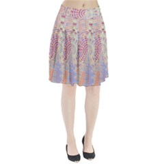 Gateway To Thelight Pattern  Pleated Skirt