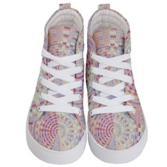 Gateway To Thelight Pattern  Kid s Hi Top Skate Sneakers