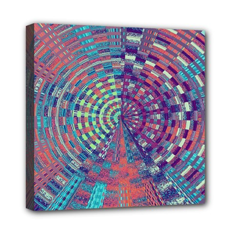 Gateway To Thelight Pattern 4 Mini Canvas 8  X 8