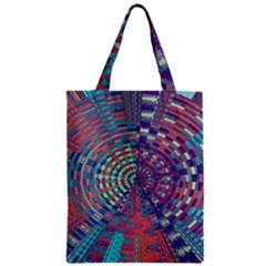 Gateway To Thelight Pattern 4 Zipper Classic Tote Bag