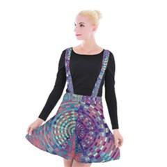 Gateway To Thelight Pattern 4 Suspender Skater Skirt