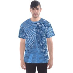 Gateway To Thelight Pattern 5 Men s Sports Mesh Tee