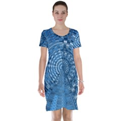 Gateway To Thelight Pattern 5 Short Sleeve Nightdress