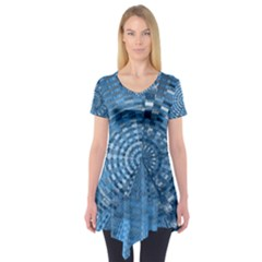 Gateway To Thelight Pattern 5 Short Sleeve Tunic