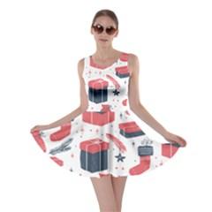 Christmas Gift Sketch Skater Dress