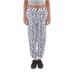 Wavy Intricate Seamless Pattern Design Women s Jogger Sweatpants