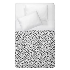 Wavy Intricate Seamless Pattern Design Duvet Cover (single Size)