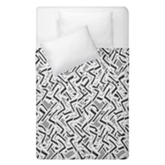 Wavy Intricate Seamless Pattern Design Duvet Cover Double Side (single Size)