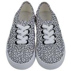 Wavy Intricate Seamless Pattern Design Kids  Classic Low Top Sneakers