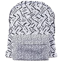 Wavy Intricate Seamless Pattern Design Giant Full Print Backpack