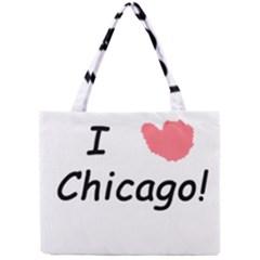I Heart Chicago  Mini Tote Bag
