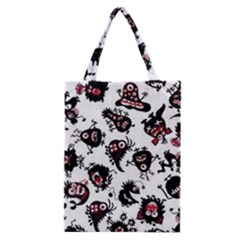 Goofy Monsters Pattern  Classic Tote Bag