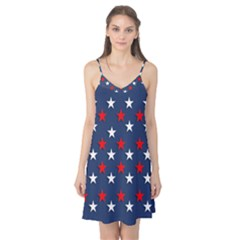 Patriotic Colors America Usa Red Camis Nightgown