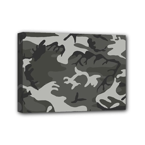 Camouflage Pattern Disguise Army Mini Canvas 7  X 5