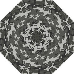 Camouflage Pattern Disguise Army Hook Handle Umbrellas (small)