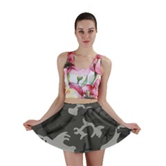 Camouflage Pattern Disguise Army Mini Skirt