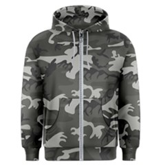 Camouflage Pattern Disguise Army Men s Zipper Hoodie