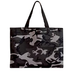 Camouflage Pattern Disguise Army Zipper Mini Tote Bag