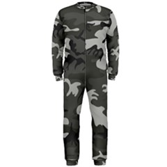 Camouflage Pattern Disguise Army Onepiece Jumpsuit (men)