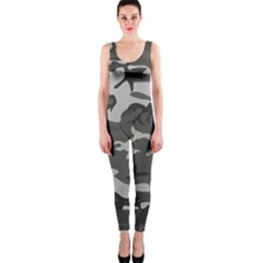 Camouflage Pattern Disguise Army Onepiece Catsuit