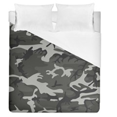 Camouflage Pattern Disguise Army Duvet Cover (queen Size)