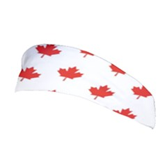 Maple Leaf Canada Emblem Country Stretchable Headband