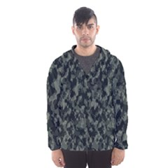 Camouflage Tarn Military Texture Hooded Wind Breaker (men)