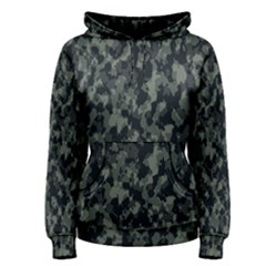 Camouflage Tarn Military Texture Women s Pullover Hoodie
