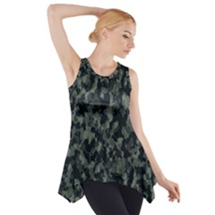 Camouflage Tarn Military Texture Side Drop Tank Tunic