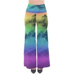 Yellowstone Wolfs Sunset Pants