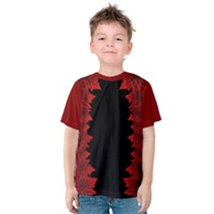 Canada Maple Leaf  Kids  Cotton Tee