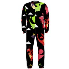 Cute Flying Dragons Onepiece Jumpsuit (men)