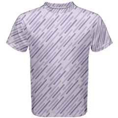 Halloween Lilac Paper Pattern Men s Cotton Tee