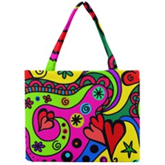 Seamless Tile Background Abstract Mini Tote Bag