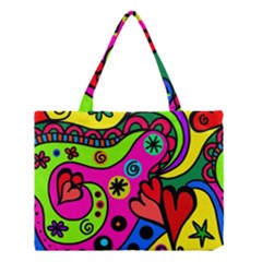 Seamless Tile Background Abstract Medium Tote Bag