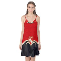 Red Black Background Wallpaper Bg Camis Nightgown