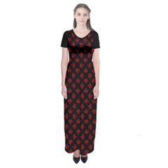 Cool Canada Short Sleeve Maxi Dress