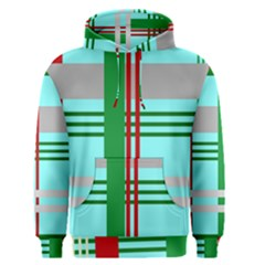 Christmas Plaid Backgrounds Plaid Men s Pullover Hoodie