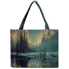 Yosemite Park Landscape Sunrise Mini Tote Bag