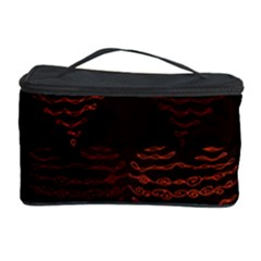 Heart Seamless Background Figure Cosmetic Storage Case