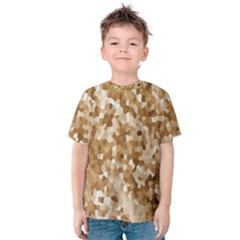 Texture Background Backdrop Brown Kids  Cotton Tee