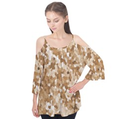 Texture Background Backdrop Brown Flutter Tees