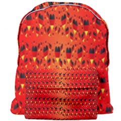 Texture Banner Hearts Flag Germany Giant Full Print Backpack